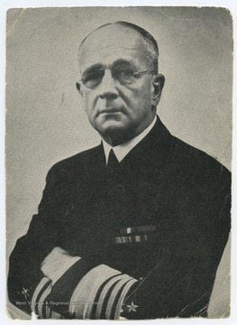 Hepburn was Commander-in-Chief of the United States Navy Fleet.