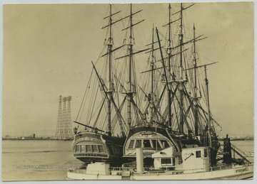 "The ships used in the ""Mutiny on the Bounty"" motion picture."
